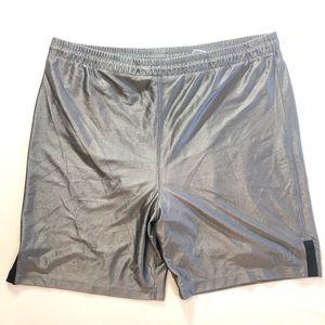 XL AthleTech Gray Silver Active Shorts for Men